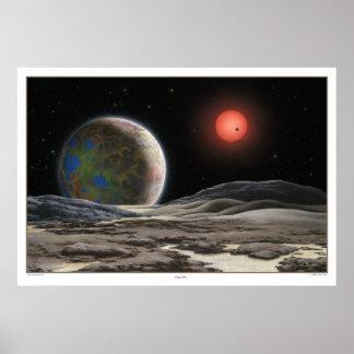 Impresión de Gliese 581 c Poster