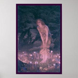 Impresión de hadas de Eve de pleno verano Posters