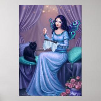 Impresión de hadas del arte del poster de Ariadne