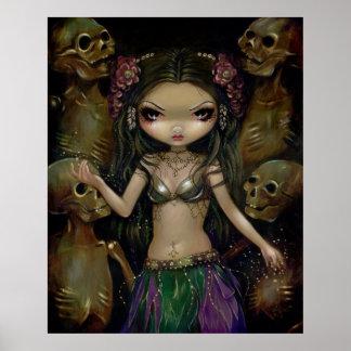 Impresión de hadas gótica macabra de Danse - fusió Poster