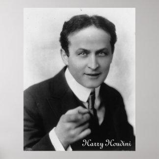 Impresión de Harry Houdini Posters