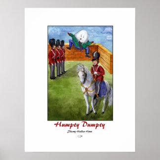 Impresión de Humpty Dumpty Póster