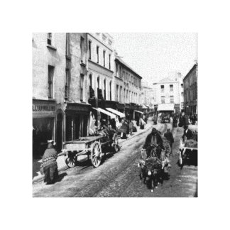 Impresión de Irlanda del vintage, calle principal  Impresion En Lona
