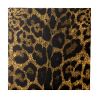 Impresión de Jaguar Azulejo Cuadrado Pequeño