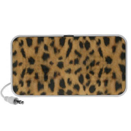 Impresión de Jaguar, modelo de la piel de imitació Altavoz De Viaje