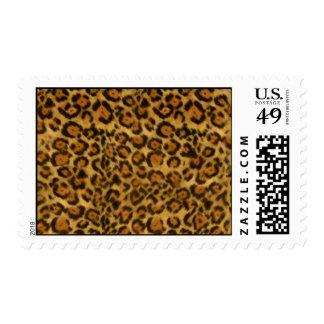 Impresión de Jaguar, modelo de la piel de Jaguar, Sello