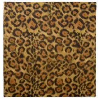 Impresión de Jaguar, modelo de la piel de Jaguar,  Servilletas