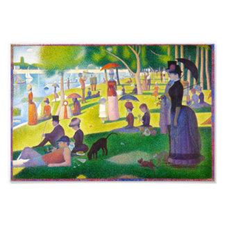 Impresión de Jatte del La de Seurat grande Fotografía