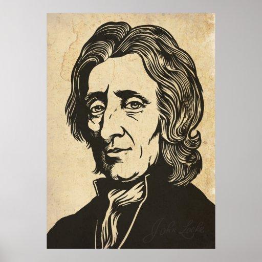 Impresión de John Locke Póster