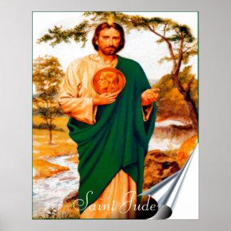 Impresión de Jude del santo Póster
