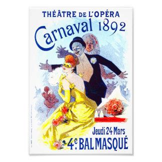 Impresión de Julio Cheret Carnaval Cojinete