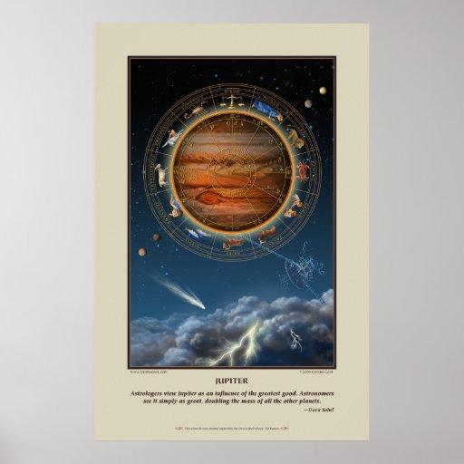 Impresión de Júpiter Póster