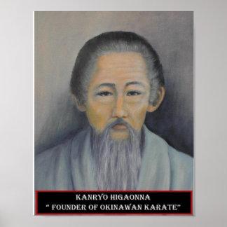 Impresión de Kanryo Higaonna Impresiones