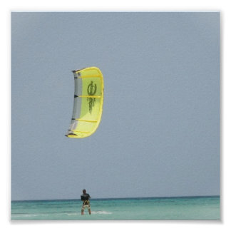 Impresión de Kitesurfing Posters