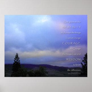 Impresión de la alba de junio del rezo de la seren poster