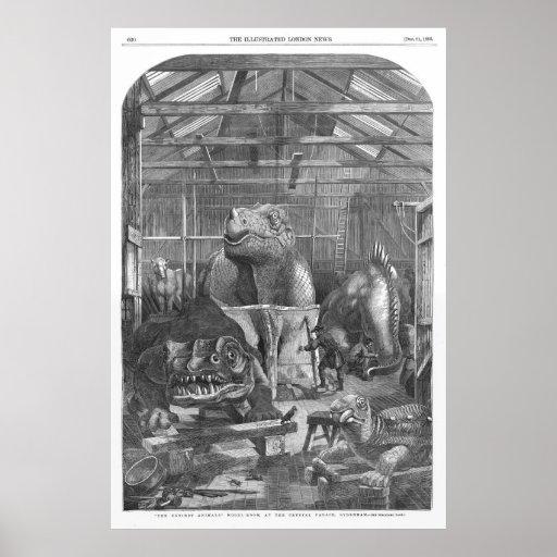 Impresión de la antigüedad del estudio de Hawkins  Impresiones