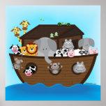 Impresión de la arca de Noah