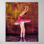 """Impresión de la """"bailarina"""" posters"""