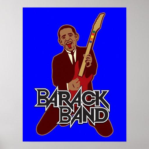 Impresión de la banda de Barack Posters