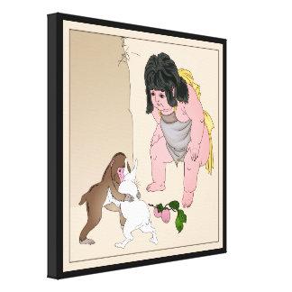 Impresión de la bella arte de la lona del artista  impresión en lona