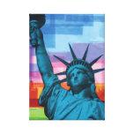 Impresión de la bella arte de señora Liberty Lona Estirada Galerías