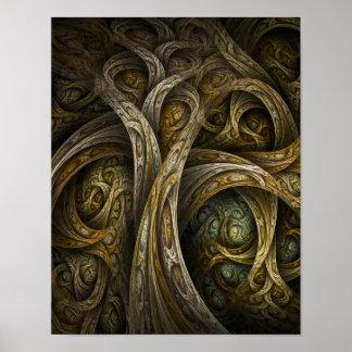 """Impresión de la bella arte de """"Yggdrasil"""" Póster"""