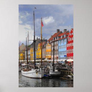 Impresión de la bella arte del color de Copenhague Impresiones