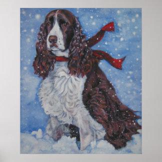 Impresión de la bella arte del perro de aguas de s poster