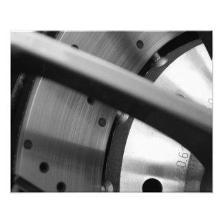 Impresión de la bella arte del rotor del freno impresiones fotograficas