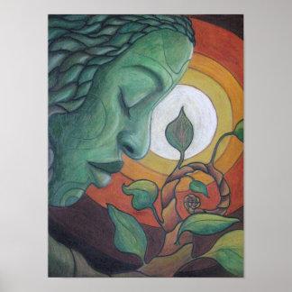 """Impresión de la bella arte: """"El despertar """" Impresiones"""