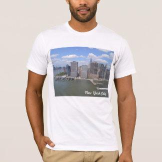 Impresión de la camiseta de los muelles de Nueva