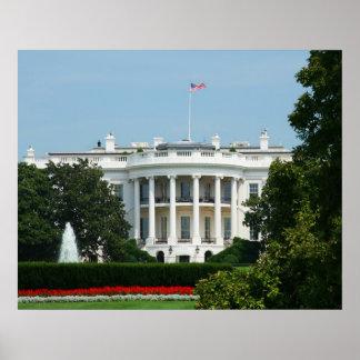 Impresión de la Casa Blanca Póster
