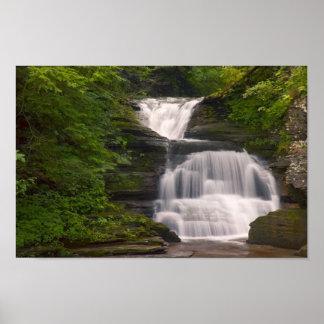 Impresión de la cascada de los lagos finger poster