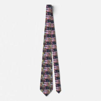 Impresión de la chispa de la JOYA amba diseño del Corbata Personalizada