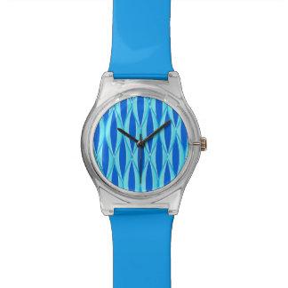 Impresión de la cinta de los mediados de siglo - relojes de pulsera
