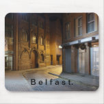 Impresión de la ciudad de Belfast Alfombrilla De Raton