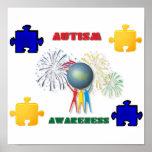 Impresión de la conciencia del autismo impresiones