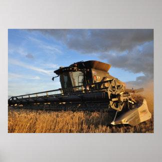 Impresión de la cosechadora del Gleaner S77 Poster