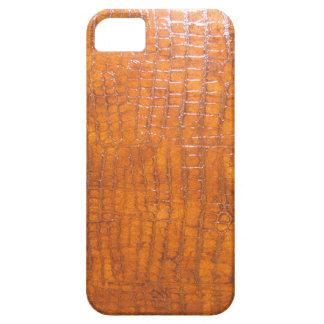Impresión de la definición de la piel del cocodril iPhone 5 Case-Mate funda