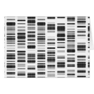 Impresión de la DNA - Tarjeta De Felicitación