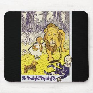 Impresión de la edición de mago de Oz del vintage Tapete De Ratones
