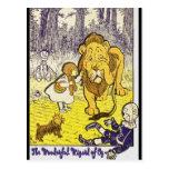 Impresión de la edición de mago de Oz del vintage Postal