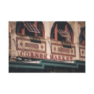 Impresión de la esquina de la lona del mercado impresión en lona