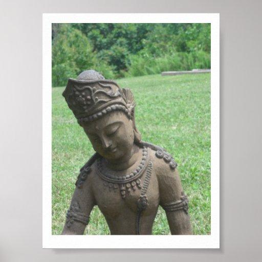 Impresión de la estatua de Tara Impresiones