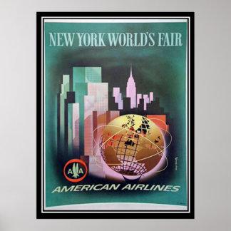 Impresión de la feria mundial de Nueva York del vi Impresiones
