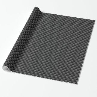 Impresión de la fibra de carbono del carbón de papel de regalo
