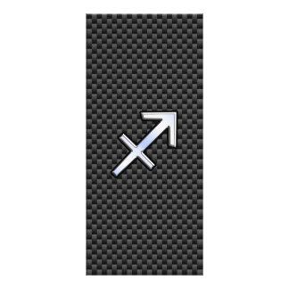 Impresión de la fibra de carbono del negro de la lonas publicitarias