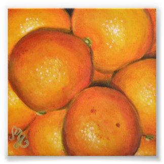 """"""" impresión de la foto 8x8 - naranjas"""