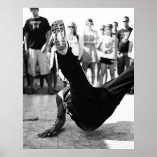Impresión de la foto de Breakdance por Randomwhat Póster