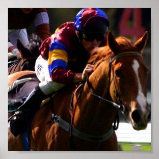 Impresión de la foto de la carrera de caballos impresiones